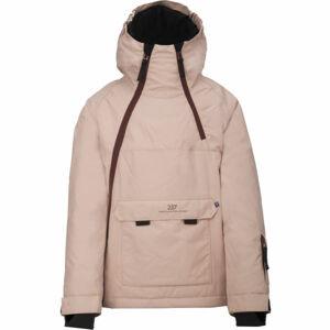 2117 LILLHEM růžová 176 - Dětská lyžařská bunda