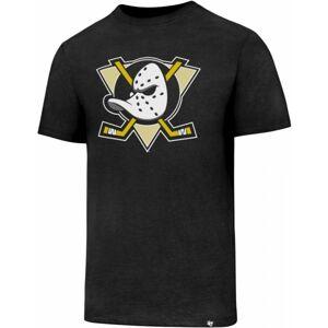 47 NHL AHAHEIM DUCKS CLUB TEE černá XL - Pánské tričko