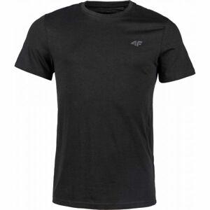 4F MENS T-SHIRTS černá 2xl - Pánské tričko