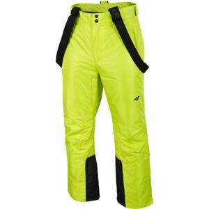 4F MEN´S SKI TROUSERS zelená S - Pánské lyžařské kalhoty