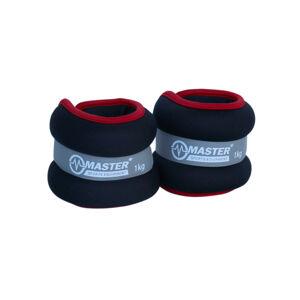 MASTER Kondiční zátěž na zápěstí a nohy 2 x 1 kg