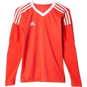 adidas REVIGO17 GK Y červená 128 - Chlapecký brankářský dres