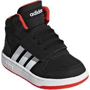 adidas HOOPS MID 2.0 I černá 20 - Dětská zimní obuv