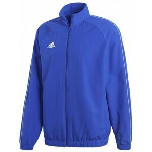 adidas CORE18 PRE JKT modrá L - Pánská sportovní bunda