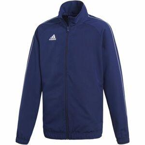 adidas CORE18 PRE JKTY  176 - Chlapecká fotbalová bunda
