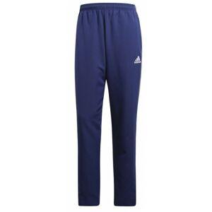 adidas CORE18 PRE PNT tmavě modrá S - Fotbalové pánské kalhoty