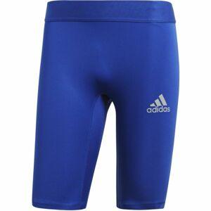 adidas ALPHASKIN SPORT SHORT TIGHTS  M modrá XL - Pánské spodní trenky