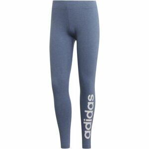 adidas E LIN TIGHT DENIM modrá S - Dámské legíny