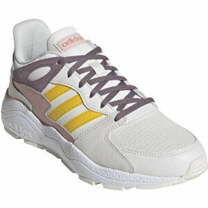 adidas CRAZYCHAOS bílá 7 - Dámská volnočasová obuv