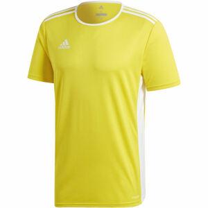 adidas ENTRADA 18 JSY žlutá XL - Pánský fotbalový dres