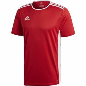 adidas ENTRADA 18 JSY červená 2xl - Pánský fotbalový dres