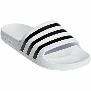 adidas ADILETTE AQUA bílá 5 - Unisexové pantofle
