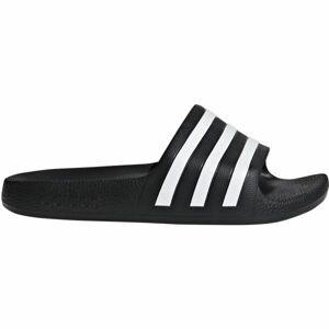 adidas ADILETTE AQUA K černá 31 - Dětské pantofle