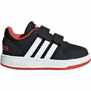 adidas HOOPS 2.0 CMF I černá 26 - Dětské volnočasové boty