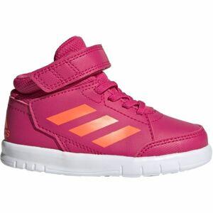adidas ALTASPORT MID I růžová 23 - Dětská volnočasová obuv