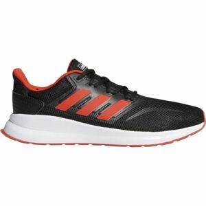 adidas RUNFALCON černá 9 - Pánská běžecká obuv