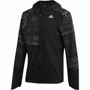 adidas OWN THE RUN JKT černá M - Pánská běžecká bunda