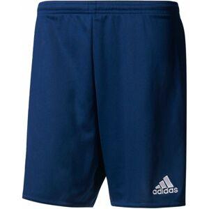 adidas PARMA 16 SHORT JR tmavě modrá 164 - Juniorské fotbalové trenky