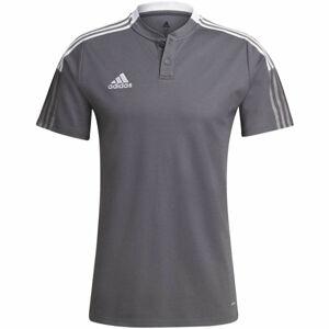 adidas TIRO21 POLO  M - Pánské fotbalové triko