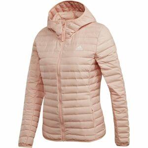 adidas VARILITE SOFT H světle růžová L - Dámská bunda