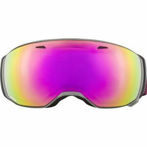 Alpina Sports ESTETICA HM šedá NS - Lyžařské brýle