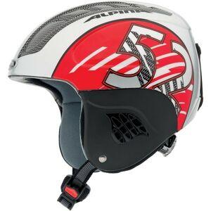 Alpina Sports CARAT červená (48 - 52) - Dětská lyžařská helma