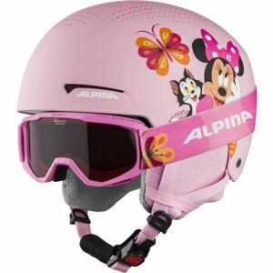 Alpina Sports ZUPO DISNEY SET  (48 - 52) - Dětská lyžařská helma a brýle