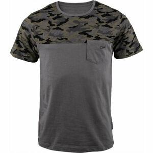 ALPINE PRO PRAVIN  XXXL - Pánské triko