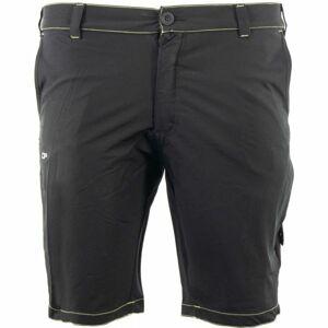 ALPINE PRO ANASS 2 černá 50 - Pánské šortky