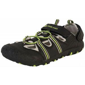 ALPINE PRO BELLEVO černá 40 - Dětská letní obuv