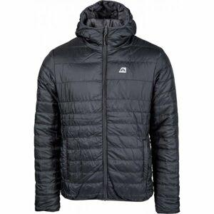 ALPINE PRO CHRYSLER 2 šedá S - Pánská zimní bunda