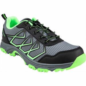 ALPINE PRO JACOBO šedá 39 - Dětská sportovní obuv