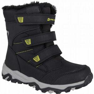 ALPINE PRO KURTO bílá 30 - Dětská zimní obuv