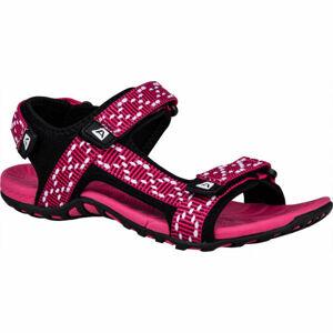 ALPINE PRO LAUN růžová 36 - Dámské sandály