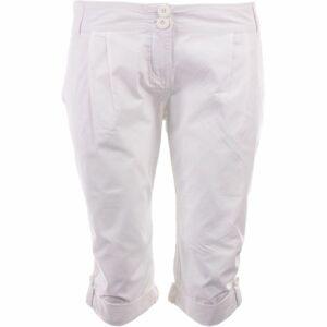 ALPINE PRO AMUNA 2 bílá 38 - Dámské 3/4 kalhoty