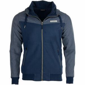 ALPINE PRO MAGNAR tmavě modrá S - Pánská bunda