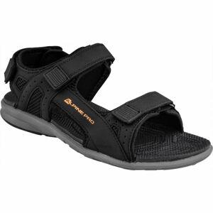 ALPINE PRO TREMAK černá 43 - Pánské sandály