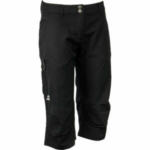 ALPINE PRO ZAJJA černá 38 - Dámské 3/4 kalhoty