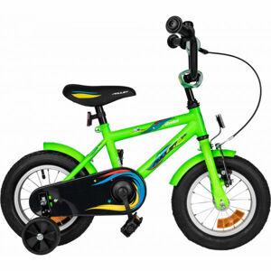 """Amulet MINI 12 zelená 12"""" - Dětské kolo"""