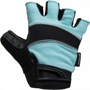 Arcore AROO modrá M - Letní cyklistické rukavice
