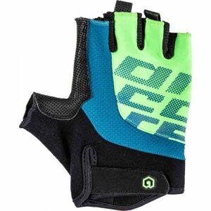 Arcore MUSKOX černá M - Krátkoprsté cyklistické rukavice