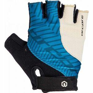 Arcore RIFF modrá L - Krátkoprsté cyklistické rukavice