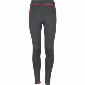 Arcore KLIO růžová 140-146 - Dětské běžecké kalhoty