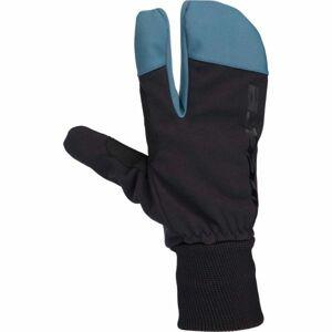 Arcore TAMPA černá M - Zimní tříprsté rukavice