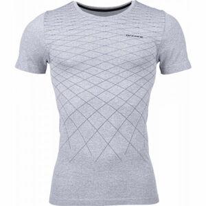 Arcore GREY šedá XL - Pánské bezešvé triko