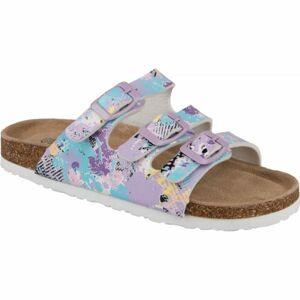 Aress GIBLI fialová 32 - Dětské pantofle