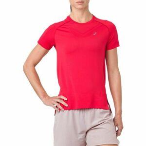 Asics SEAMLESS SS TOP růžová S - Dámské běžecké triko