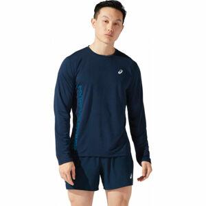 Asics SMSB RUN LS TOP  XL - Pánské běžecké triko