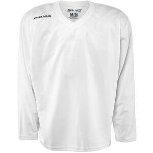 Bauer 200 JERSEY YTH bílá XL - Dětský hokejový tréninkový dres