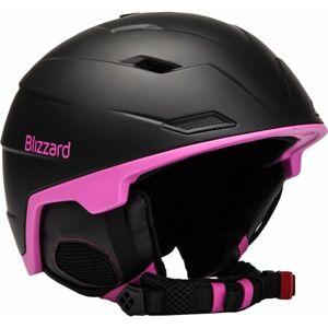 Blizzard VIVA DOUBLE černá (56 - 59) - Lyžařská helma